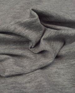Cotton Jersey Fabric - Grey Marl