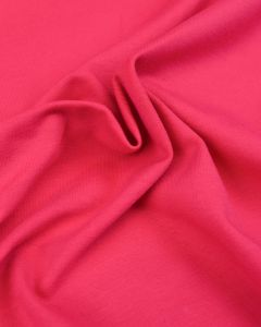 Cotton Jersey Fabric - Hot Pink