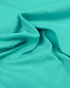 Cotton Jersey Fabric - Turquoise
