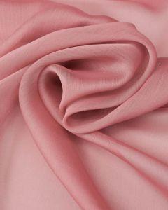 Polyester Chiffon Fabric - Rose Pink