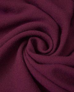Wool Crepe Fabric - Plum