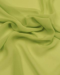 Polyester Georgette Fabric - Acid Green