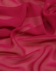 Polyester Georgette Fabric - Magenta
