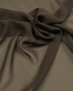 Polyester Georgette Fabric - Charcoal