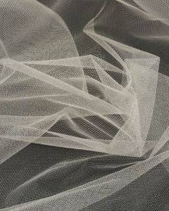 Shimmer Tulle Fabric - Cream