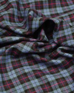 Brushed Cotton Fabric - Cranleigh Tartan
