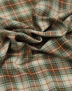 Brushed Cotton Fabric - Glenbarroch Tartan
