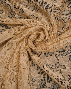 Corded Lace Fabric - Gold