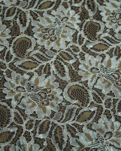 Corded Lace Fabric - Sage Green