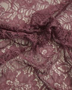 Corded Lace Fabric - Pale Orchid