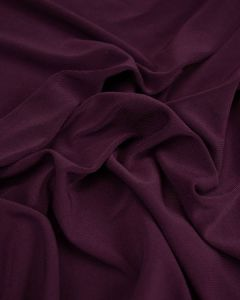 Polyester Jersey Fabric - Plum Purple