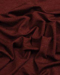 Viscose Blend Jersey Fabric - Claret