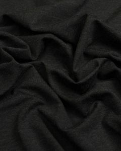 Viscose Blend Jersey Fabric - Black
