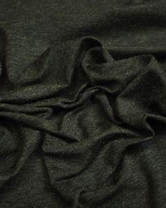 REMNANT Grey Viscose Blend Jersey Fabric - 100cm x 170cm