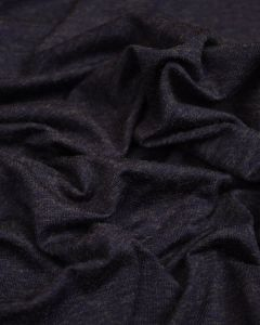 Viscose Blend Jersey Fabric - Navy