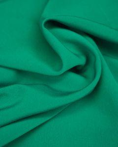 Luxury Crepe Fabric - Jade Green