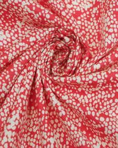 Cotton Fabric -  Blush Pink & White Speckle