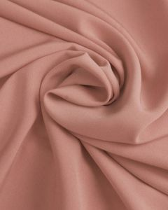 Luxury Crepe Fabric - Blush Pink