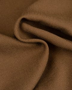 Woven Polyester Suiting Fabric - Earth Brown