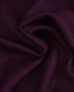 Woven Polyester Suiting Fabric - Purple
