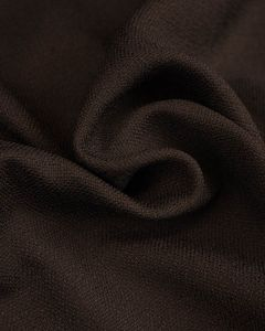 Woven Polyester Suiting Fabric - Charcoal Grey