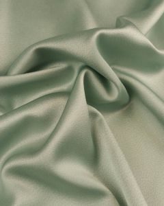 Liquid Satin Fabric - Sea Glass
