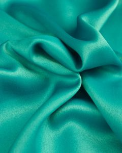 Liquid Satin Fabric - Turquoise