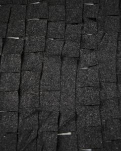 Embellished Georgette Fabric - Charcoal Square