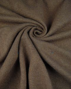 Wool & Viscose Jersey Fabric - Truffle