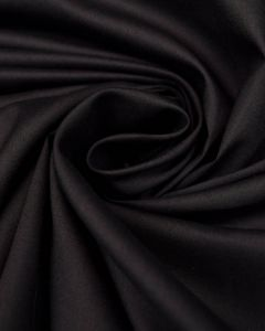 Pure Cotton Lawn Fabric - Black