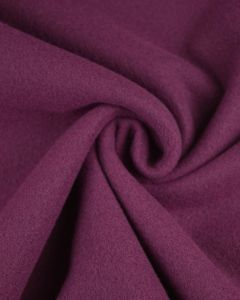 Super Soft Mouflon Coating Fabric - Plum