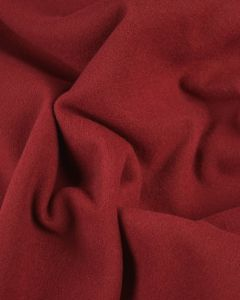 Super Soft Mouflon Coating Fabric - Cranberry