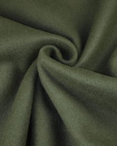 Super Soft Mouflon Coating Fabric - Forest Green