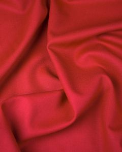 Pure Wool Crepe Fabric - Claret Red