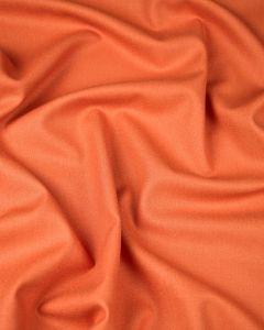 Pure Wool Crepe Fabric - Tangerine