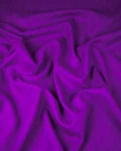 Pure Wool Crepe Fabric - Purple