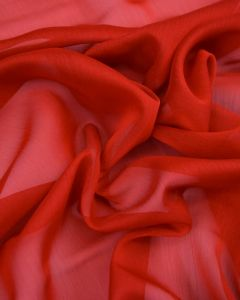 Polyester Chiffon Fabric - Red
