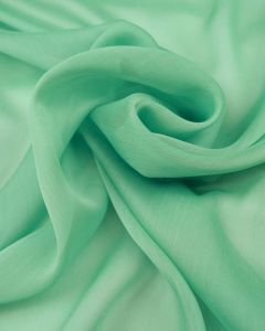 Polyester Chiffon Fabric - Mint Green