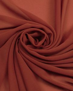 Luxury Polyester Chiffon Fabric - Claret