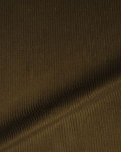 Pure Cotton Needlecord Fabric - Khaki