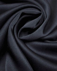 Luxury Satin Fabric - Navy Blue