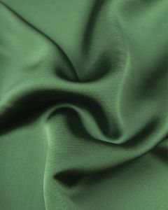 Luxury Satin Fabric - Emerald Green