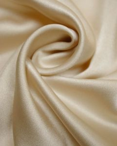 Luxury Satin Fabric - Pearl