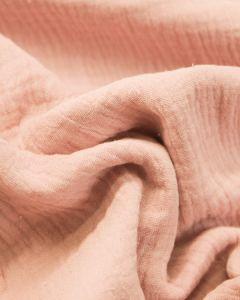Cotton Double Gauze Fabric - Mallow