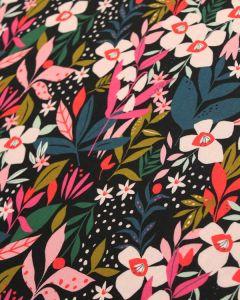 Rayon Fabric - Soiree Secret Garden