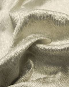 Textured Satin Fabric - Champagne Pearl