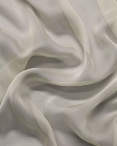 Silk Chiffon Fabric - Cream