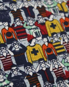 Cotton French Terry Fabric - Find Timothy