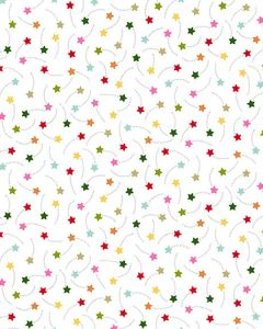Patchwork Cotton Fabric - Shooting Stars
