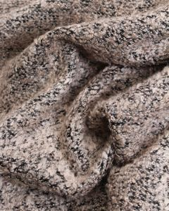 Boucle Coating Fabric - Blush Pink